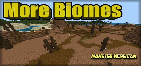 More Biomes Add-on