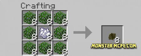 craft the bushy leaves