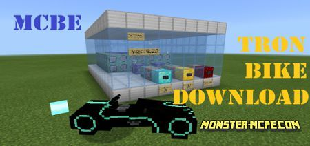 Working Tron Light Cycles Add-on 1.16+
