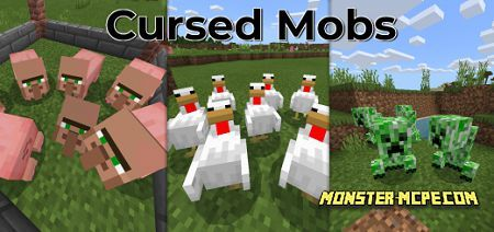 Cursed Mobs Texture Pack