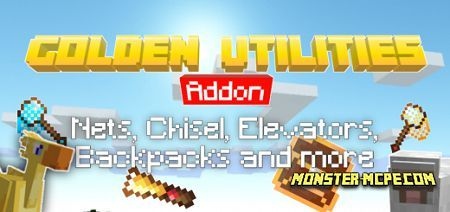 Golden Utilities: Transport Any Mob and Much More Add-on