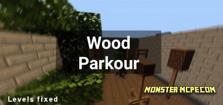 Wood Parkour Map