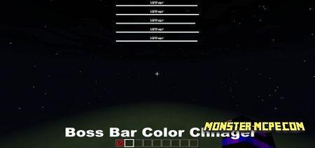 Boss Bar Color Changer