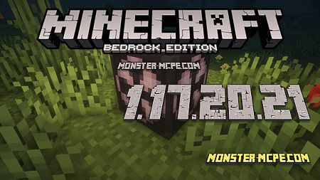 Minecraft PE 1.17.20.21 for Android