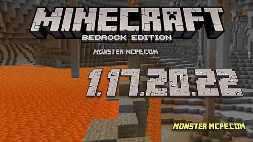 Minecraft PE 1.17.20.22 for Android