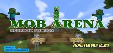 Mob Arena Survival And PVP Map