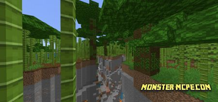 Enormous Bamboo Jungle with Crossing Ravines Seed