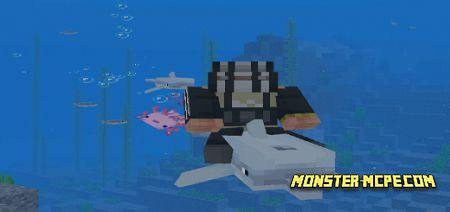 Rideable Aquatic Mobs