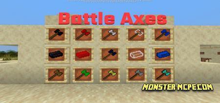 Battle Axes Add-on 1.16+