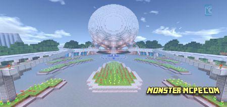 Disney's EPCOT Center Map
