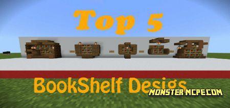 Top 5 Bookshelf Designs Map