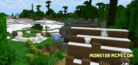 Zombie Village/Jungle Temple Near Ice Spike/Jungle Combo Seed