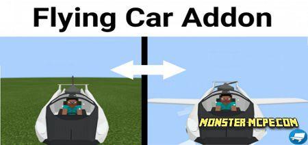 Flying Car Add-on 1.17/1.16+