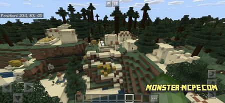 Mineshaft, Jungle, and Desert Village Close to Spawn (4)
