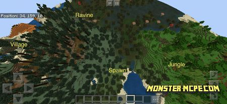 Mineshaft, Jungle, and Desert Village Close to Spawn (6)
