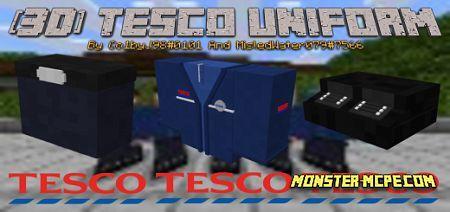 TESCO Supermarket Staff Uniform Add-on