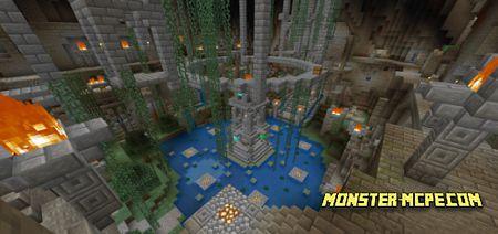 Minecraft Battle Minigame Map