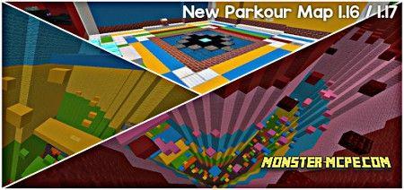 Rainbow Surf Parkour Map