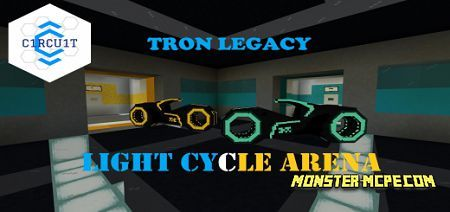 Tron Light Cycle Arena Map