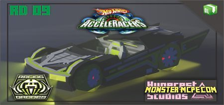 Hot Wheels Acceleracers - Sweeper Drones - Racing Drones Add-on