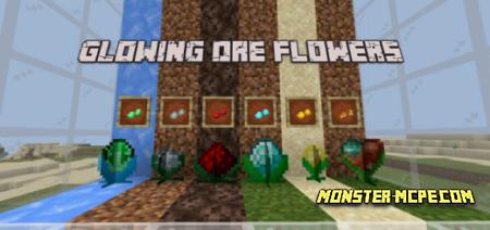 Glowing Ore Flowers Add-on