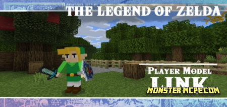 Play as Link from: The Legend of Zelda Texture Pack