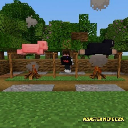 Roast Your Mobs Add-on 1.17+
