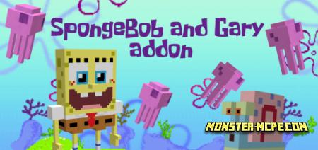 SpongeBob and Gary Add-on