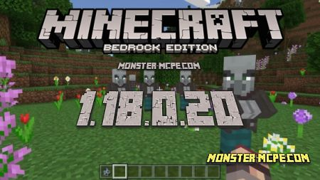 Minecraft PE 1.18.0.20 for Android