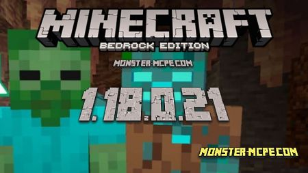Minecraft PE 1.18.0.21 for Android