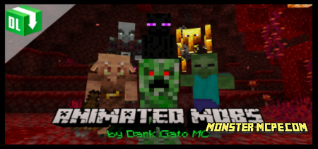 Blinking Mobs Texture Pack