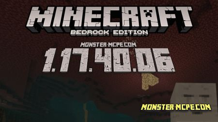 Minecraft PE 1.17.40.06 for Android [Release]