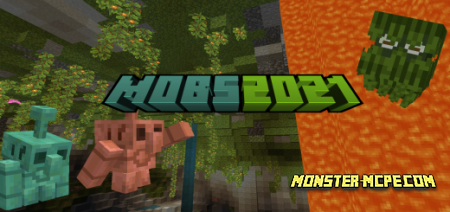 Mobs2021 Add-on 1.17+