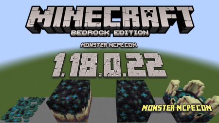 Minecraft PE 1.18.0.22 for Android